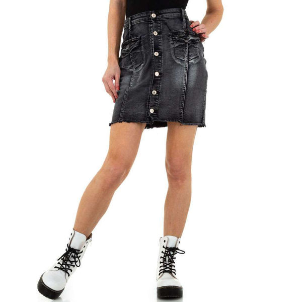 Black-denim-skirt-562997