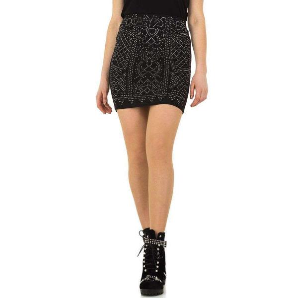 Black-mini-skirt-Daysie-496031