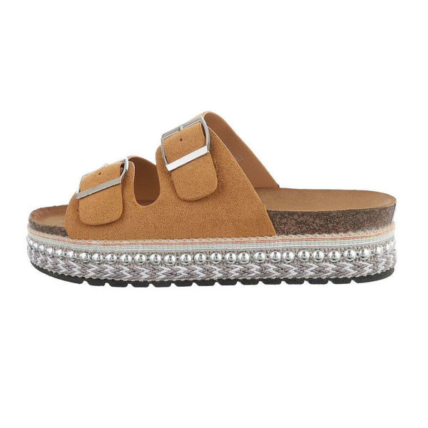 Brown-slides-with-buckles-594577