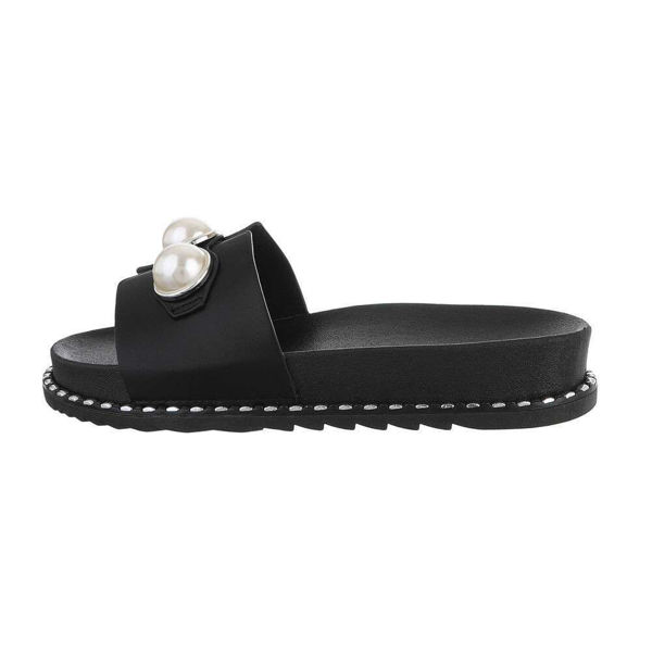 Black-slides-with-pearls-594417