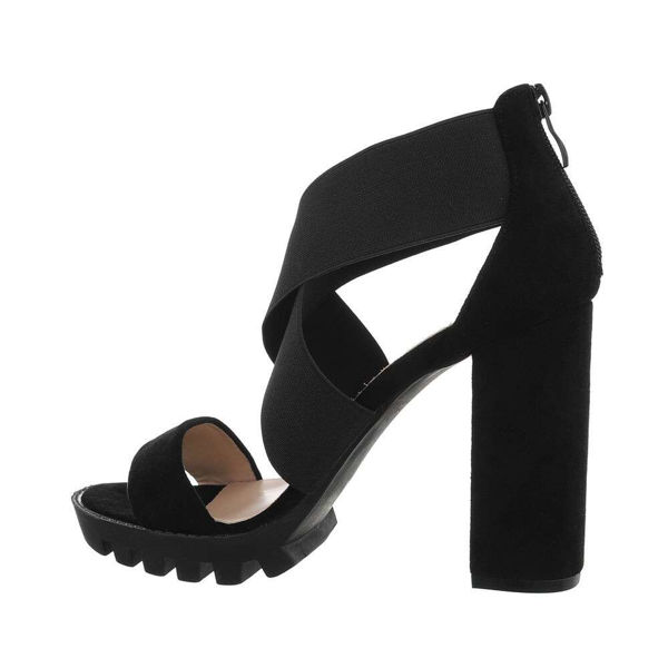 High-Heeled-black-shoes-572036
