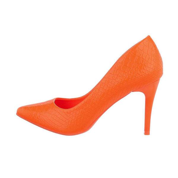 Orange-High-Heel-pumps-557438