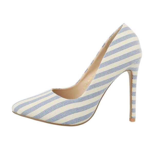 Blue-and-white-striped-Pumps-494440