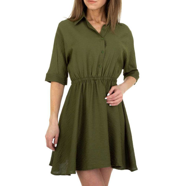 Tumeroheline-varrukatega-kleit-602002