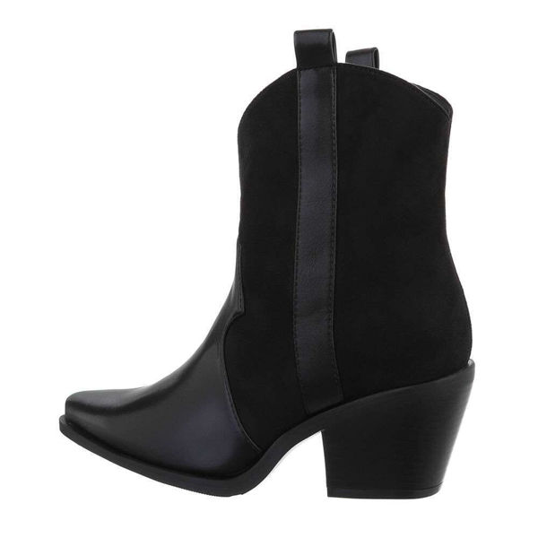 Womens-black-ankle-boots-587521