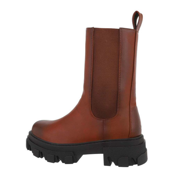 Womens-brown-ankle-boots-585504