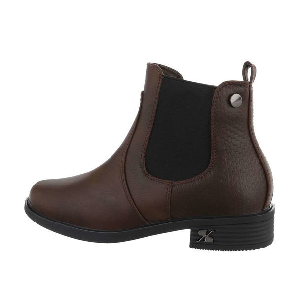 Womens-brown-ankle-boots-579070