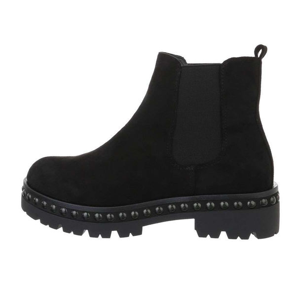Womens-black-ankle-boots-543419