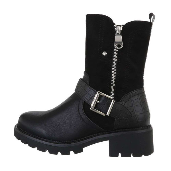 Womens-black-ankle-boots-543395