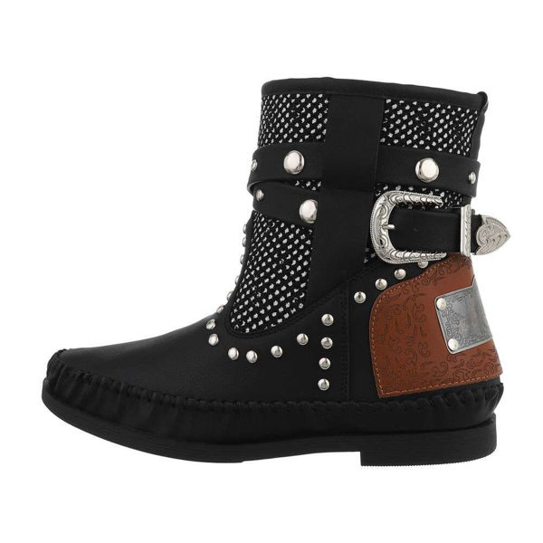Womens-black-ankle-boots-576291