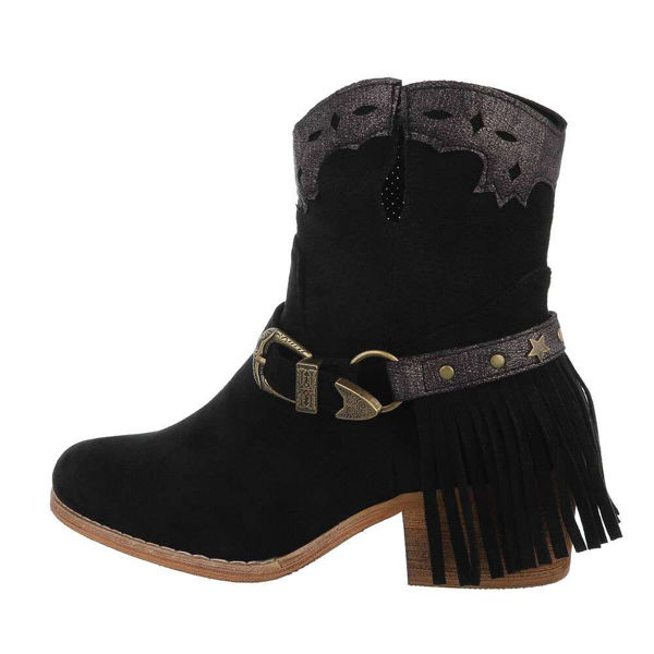 Womens-black-ankle-boots-574381