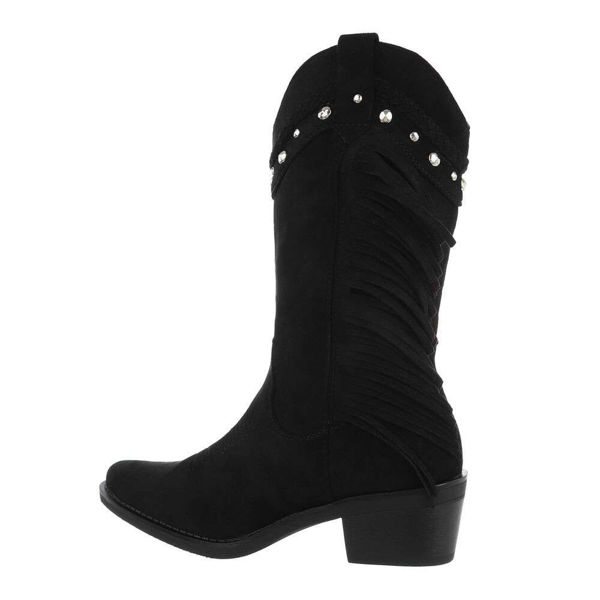 Womens-black-ankle-boots-574343