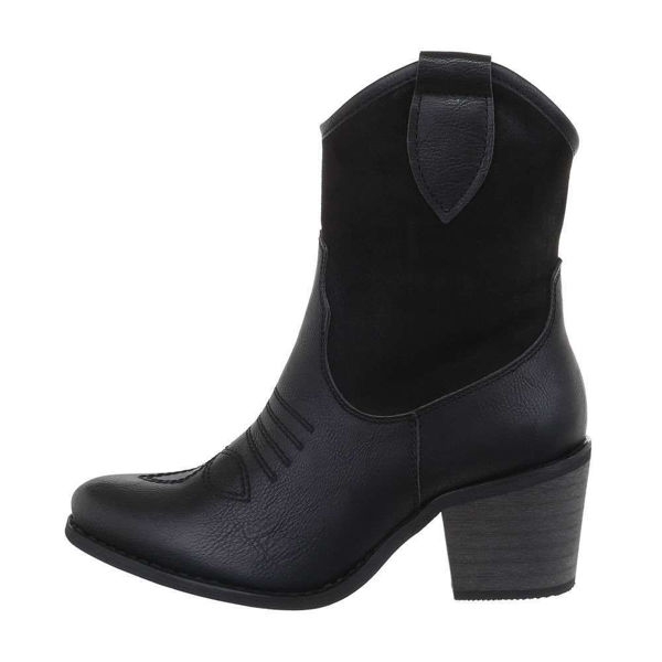 Womens-black-ankle-boots-530648