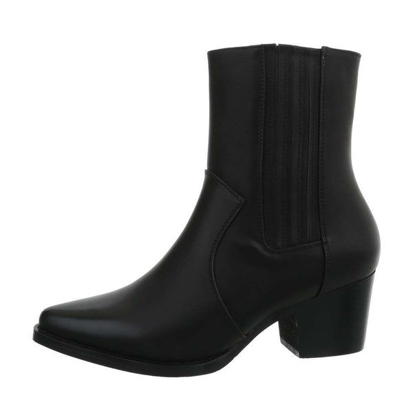 Womens-black-ankle-boots-487467