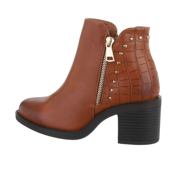 Womens-brown-ankle-boots-585213